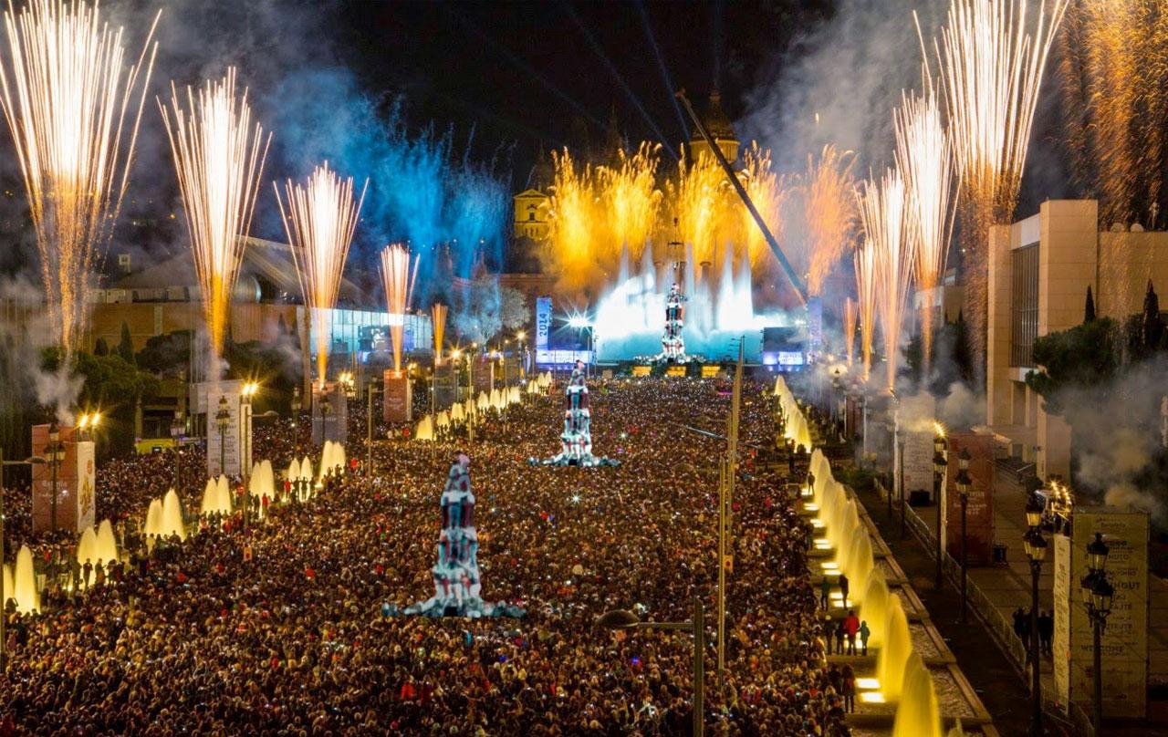 Feestdagen van Barcelona